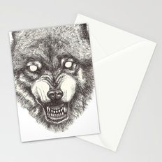 Day wolf Stationery Cards