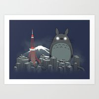 My Angry Neighbor Art Print