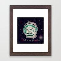 Yuri Gagarin Framed Art Print