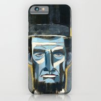 iPhone & iPod Case featuring Lincoln  by Oliver Dominguez