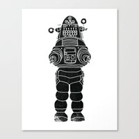 ROBBY THE ROBOT Canvas Print