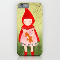 iPhone & iPod Case featuring Little red riding hood by munieca