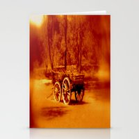 Wagon Wheels Stationery Cards