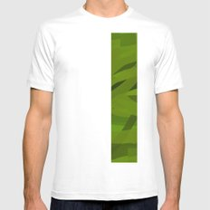 Camo Mens Fitted Tee SMALL White