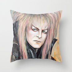 A Kind of Pale Jewel Throw Pillow