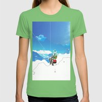 Experiment am Berg 35 Womens Fitted Tee Grass SMALL