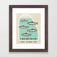 Schubert - Trout Quintet, D. 667 Framed Art Print