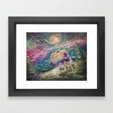Free Wind Framed Art Print