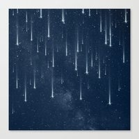 Wishing Stars Canvas Print
