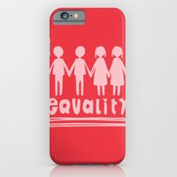 iPhone & iPod Case featuring Equality Love II by MaJoBV