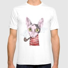 Mr.Rex SMALL Mens Fitted Tee White