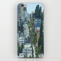 Lombard Street, San Fran… iPhone & iPod Skin