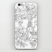 Pasolini`s Garden iPhone & iPod Skin