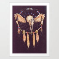 Wild Dreams Art Print