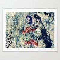 You Are Mine. Art Print