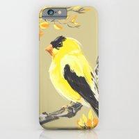 Yellow Finch iPhone 6 Slim Case