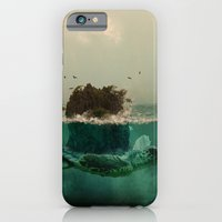 iPhone & iPod Case featuring The island by Mi Nu Ra