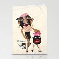 Ms. Rotten Soul  Stationery Cards