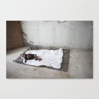 My baby's bed Canvas Print
