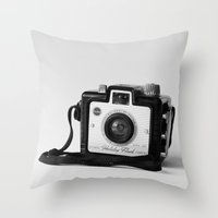 Brownie Holiday Throw Pillow