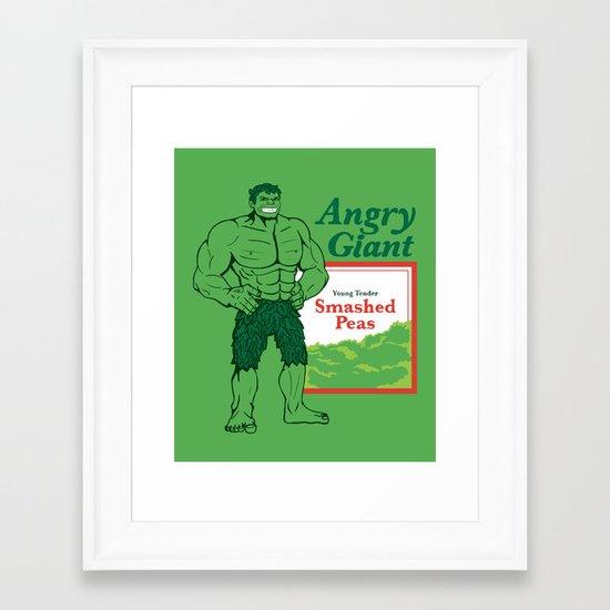Not So Jolly Framed Art Print