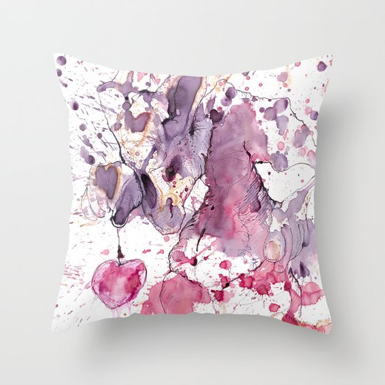 Swap Your heart for one sweet cherry? Throw Pillow