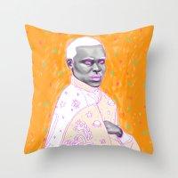 Naranja Throw Pillow