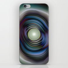 Agate and Pearl - Fractal Fantasy iPhone & iPod Skin
