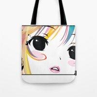 Yuki Remix Blocked Tote Bag