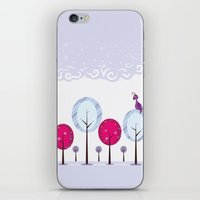Pastel Dream Trees iPhone & iPod Skin
