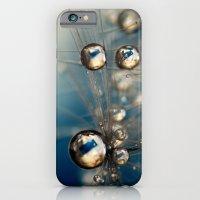 Royal Sea Blue Drops iPhone 6 Slim Case