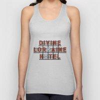 Divine Lorraine Hotel Unisex Tank Top