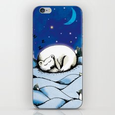 ours polaire iPhone & iPod Skin