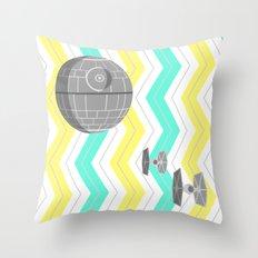 Star Wars Death Star Chevrons Throw Pillow