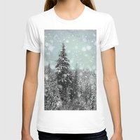 snow T-shirts featuring Snow by Pure Nature Photos