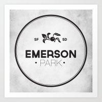 Emerson Park Art Print
