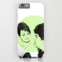 iPhone & iPod Case featuring Pedro Almodovar and Penelope Cruz by Ruth Hannah