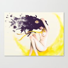 Sailor Luna Canvas Print