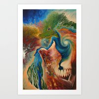 Terrene Genealogy Art Print