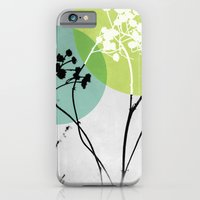 iPhone & iPod Case featuring Abstract Flowers 2 by Mareike Böhmer Graphics