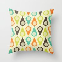Oh What A Lovely Pear. Throw Pillow