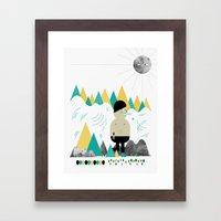 Giant! Framed Art Print