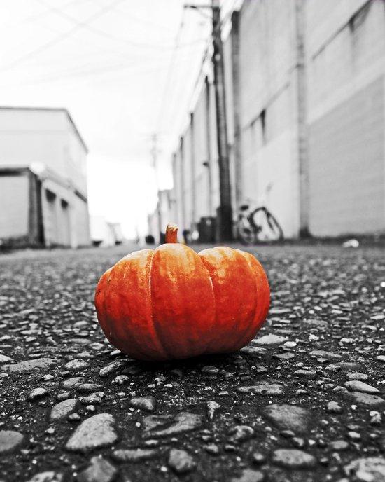 Gritty City pumpkin Art Print