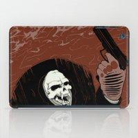 Monkey Skull Suit iPad Case