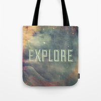Explore III Tote Bag