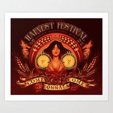Come-Come-Commala Art Print