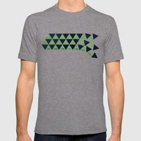 Waterfall Mens Fitted Tee Tri-Grey SMALL
