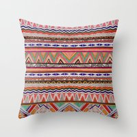 TRIBAL NOMAD Throw Pillow