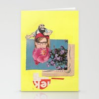 Poppy Girl  Stationery Cards