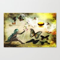 Celebration  of Life Canvas Print